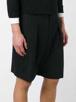 Шорты Строгого Кроя Givenchy                                                                                                              чёрный цвет