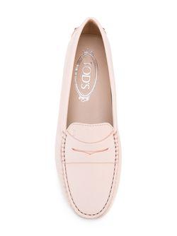 Мокасины Gommino Tod'S                                                                                                              розовый цвет