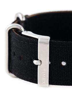 Парусиновый Ремешок Timex                                                                                                              черный цвет