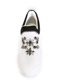Кроссовки Rosas Tory Burch                                                                                                              белый цвет