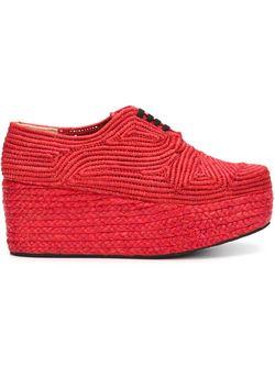 Туфли На Платформе Robert Clergerie                                                                                                              красный цвет