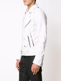Байкерская Куртка AMIRI                                                                                                              белый цвет