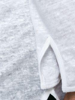 Футболка Хенли MAJESTIC FILATURES                                                                                                              белый цвет