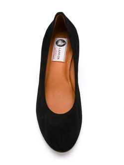 Туфли На Каблуках-Столбиках Lanvin                                                                                                              чёрный цвет