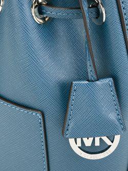 Small Greenwich Crossbody Bag Michael Michael Kors                                                                                                              синий цвет