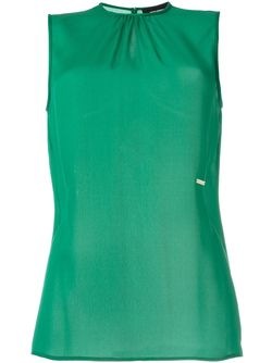 Блузка Без Рукавов Dsquared2                                                                                                              зелёный цвет