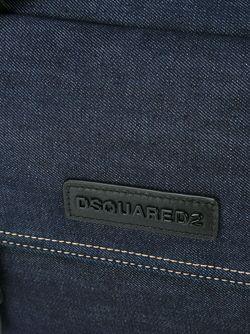 Джинсовая Сумка Dsquared2                                                                                                              синий цвет
