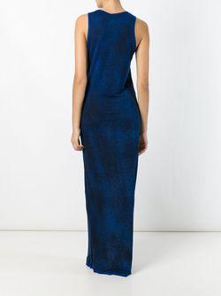 Длинное Платье Без Рукавов Avant Toi                                                                                                              синий цвет