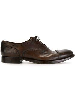 Туфли Броги Silvano Sassetti                                                                                                              коричневый цвет
