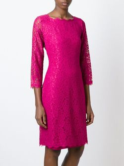 Платье Zarita Diane Von Furstenberg                                                                                                              розовый цвет