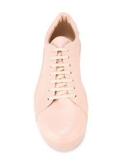Классические Кеды Jil Sander                                                                                                              розовый цвет
