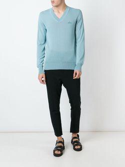 Свитер С V-Образным Вырезом Vivienne Westwood                                                                                                              синий цвет