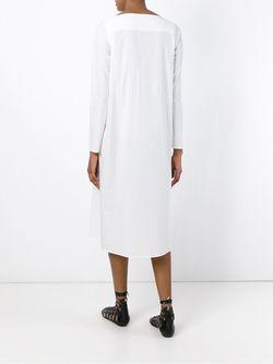 Платье Свободного Кроя Tomas Maier                                                                                                              белый цвет