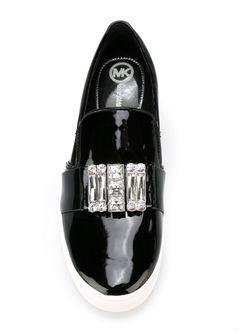 Кеды С Инкрустированным Ремешком Michael Michael Kors                                                                                                              черный цвет