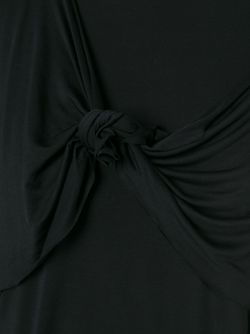 Футболка С Узлом Marques Almeida                                                                                                              чёрный цвет