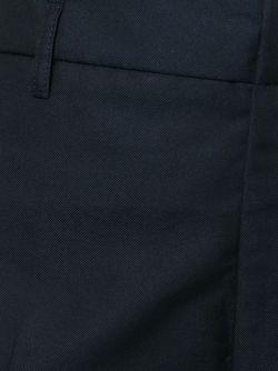 Укороченные Брюки Jil Sander                                                                                                              синий цвет