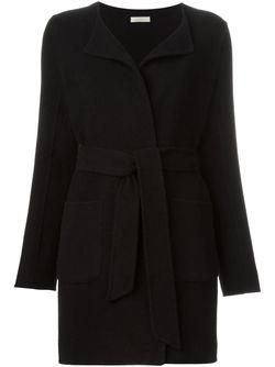 Пальто С Поясом P.A.R.O.S.H.                                                                                                              черный цвет