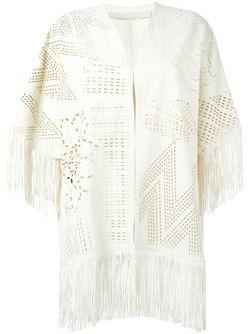 Перфорированная Накидка С Бахромой Drome                                                                                                              белый цвет