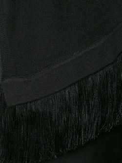 Асимметричный Свитер С Бахромой Derek Lam 10 Crosby                                                                                                              черный цвет