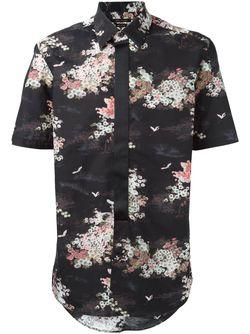 Рубашка С Цветочным Принтом Marc Jacobs                                                                                                              черный цвет