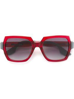 Большие Солнцезащитные Очки Mcq Alexander Mcqueen                                                                                                              красный цвет