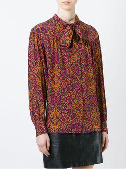Printed Blouse Saint Laurent                                                                                                              многоцветный цвет