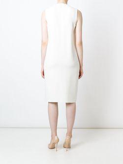 Платье Без Рукавов С Оборками Ralph Lauren                                                                                                              белый цвет