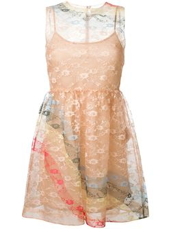 Sleeveless Lace Dress Red Valentino                                                                                                              Nude & Neutrals цвет