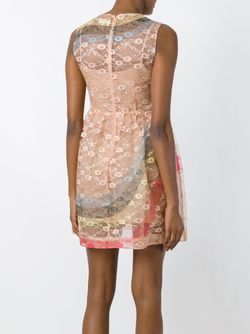 Sleeveless Floral Lace Dress Red Valentino                                                                                                              Nude & Neutrals цвет