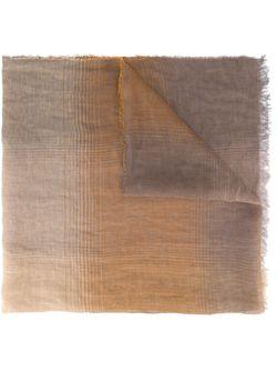 Шарф В Клетку Eleventy                                                                                                              коричневый цвет