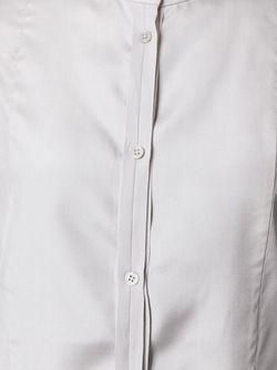 Рубашка С Нагрудной Панелью Joseph                                                                                                              серый цвет