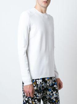 Свитер С Круглым Вырезом Kenzo                                                                                                              белый цвет