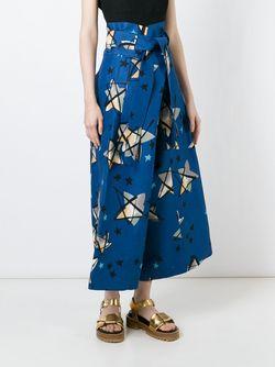 Брюки Stardust Marni                                                                                                              синий цвет