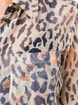Leopard Print Shirt Chloe                                                                                                              коричневый цвет