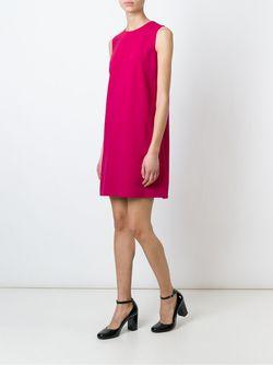 Платье-Шифт Без Рукавов Dolce & Gabbana                                                                                                              розовый цвет