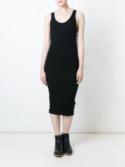 Декорированное Платье Alexander Wang                                                                                                              чёрный цвет
