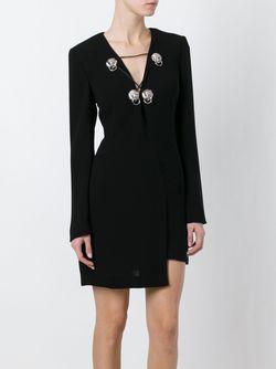 Платье Асимметричного Кроя Versus                                                                                                              чёрный цвет