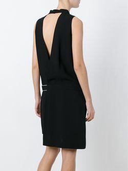Двубортное Платье Versus                                                                                                              чёрный цвет