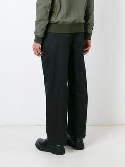 Широкие Брюки Alexander McQueen                                                                                                              черный цвет