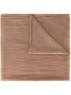 Шарф С Необработанными Краями Humanoid                                                                                                              коричневый цвет