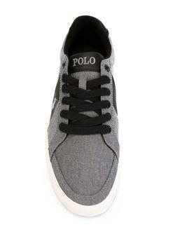 Кеды На Шнуровке Polo Ralph Lauren                                                                                                              серый цвет