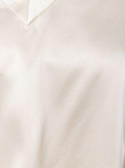 Топ C V-Образным Вырезом Brunello Cucinelli                                                                                                              Nude & Neutrals цвет