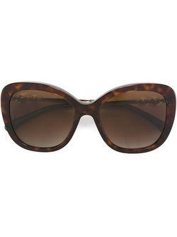 Солнцезащитные Очки С Жемчужинами Chanel Vintage                                                                                                              коричневый цвет