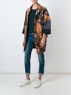 Жаккардовое Пальто Odeeh                                                                                                              многоцветный цвет