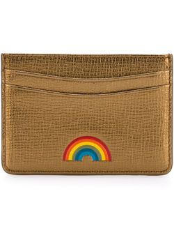 Визитница Rainbow Anya Hindmarch                                                                                                              серебристый цвет