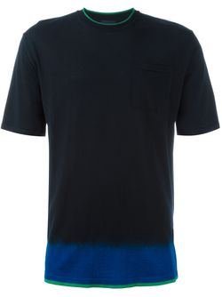 Футболка С Эффектом Dip-Dye Lanvin                                                                                                              синий цвет
