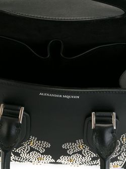 Heroine Tote Alexander McQueen                                                                                                              чёрный цвет