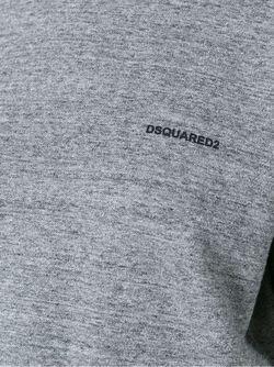 Толстовка С Укороченными Рукавами Dsquared2                                                                                                              серый цвет