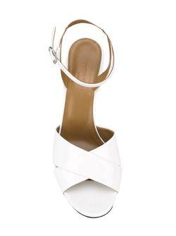 Босоножки Со Скрещенными Лямками Sonia Rykiel                                                                                                              белый цвет