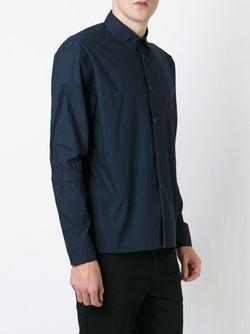 Рубашка С Нагрудным Карманом Marni                                                                                                              синий цвет